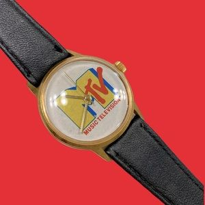 Rare 1990's MTV Wrist Watch-Vintage Grunge Rock